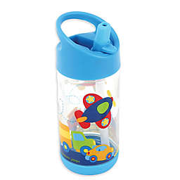 Stephen Joseph® Transportation Flip Top Bottle in Blue