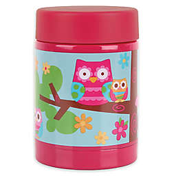 Stephen Joseph® Owl Hot and Cold Food Container in Pink