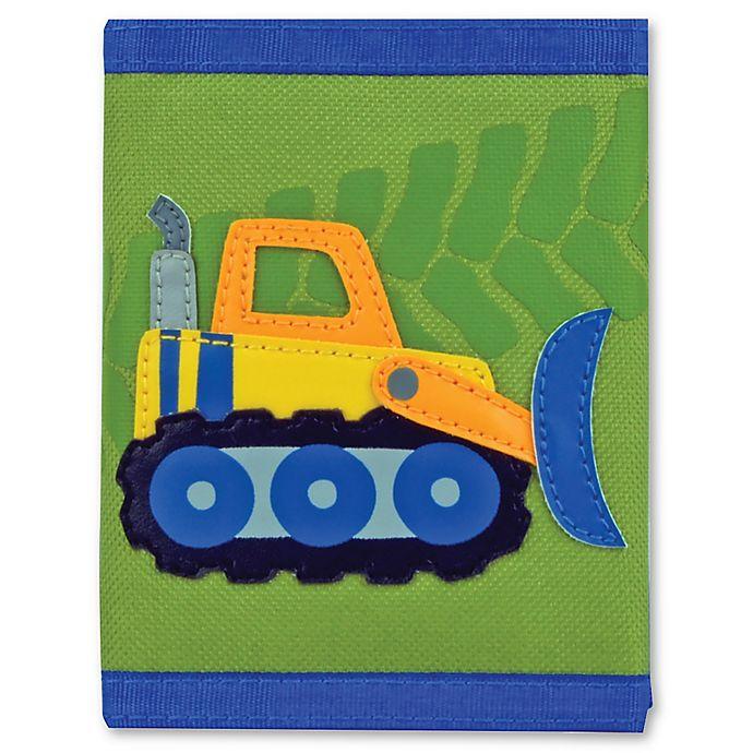 Alternate image 1 for Stephen Joseph® Construction Wallet in Green