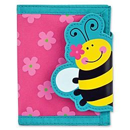 Stephen Joseph® Bee Wallet in Pink