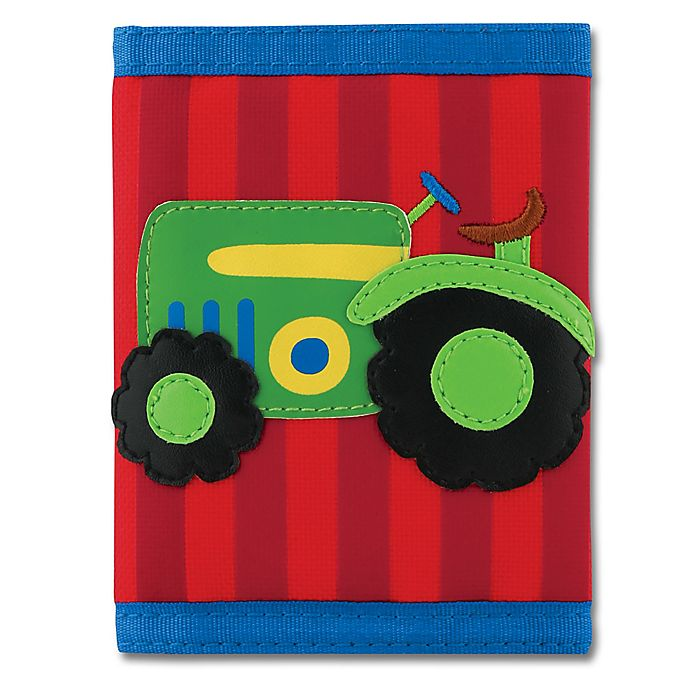 Alternate image 1 for Stephen Joseph® Tractor Wallet in Red