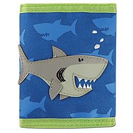 Stephen Joseph® Shark Wallet in Blue