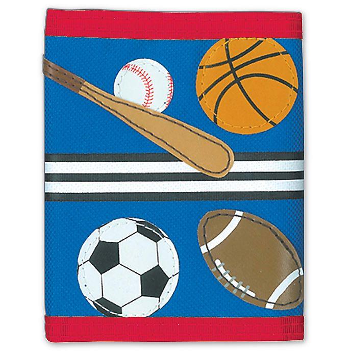 Alternate image 1 for Stephen Joseph® Sports Wallet in Blue