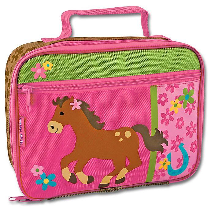 Alternate image 1 for Stephen Joseph® Girl Horse Lunchbox in Pink