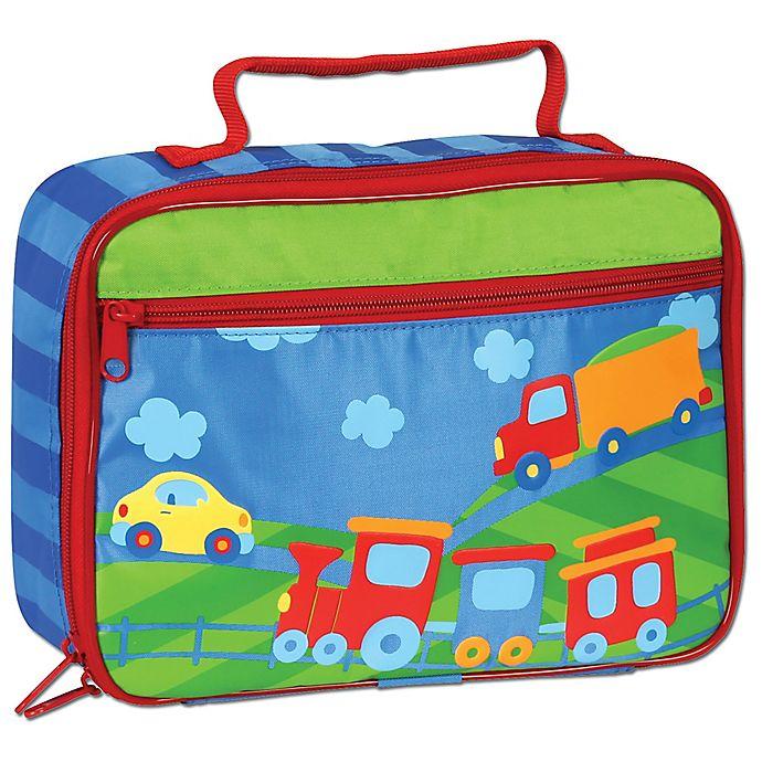 Alternate image 1 for Stephen Joseph® Transportation Classic Lunchbox in Blue