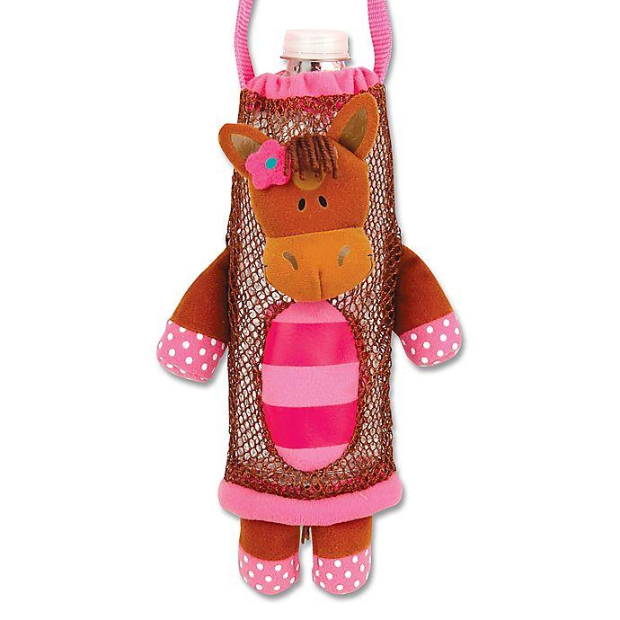 Alternate image 1 for Stephen Joseph® Girl Horse Bottle Buddy in Brown