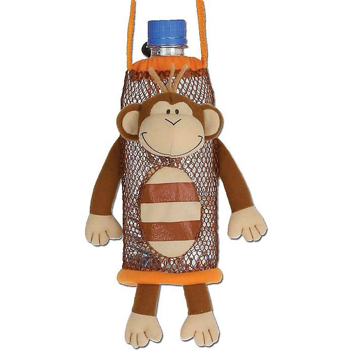 Alternate image 1 for Stephen Joseph® Monkey Bottle Buddy in Brown