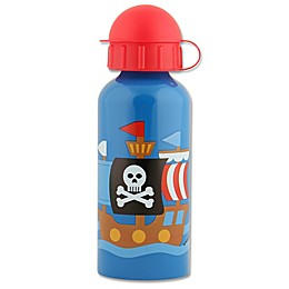 Stephen Joseph® Pirate Stainless Steel Water Bottle in Blue