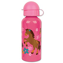Stephen Joseph® Horse Stainless Steel Water Bottle in Pink