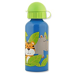 Stephen Joseph® Zoo Stainless Steel Water Bottle in Blue