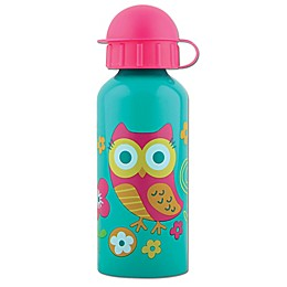 Stephen Joseph® Owl Stainless Steel Water Bottle in Blue