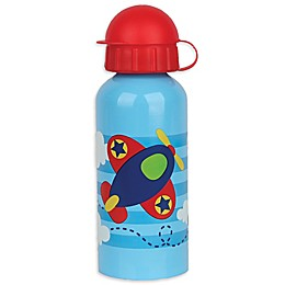 Stephen Joseph® Airplane Stainless Steel Water Bottle in Blue