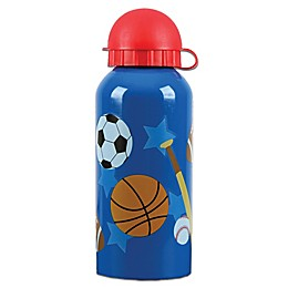 Stephen Joseph® Sports Stainless Steel Water Bottle in Blue
