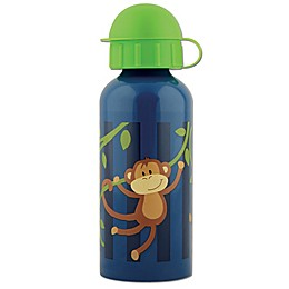 Stephen Joseph® Monkey Stainless Steel Water Bottle in Blue