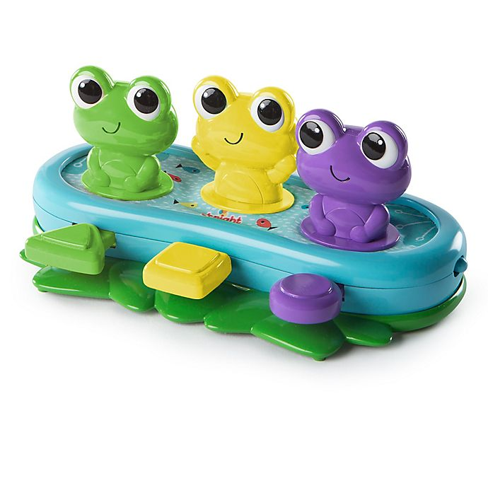 Alternate image 1 for Bright Starts™ Bop & Giggle Frogs
