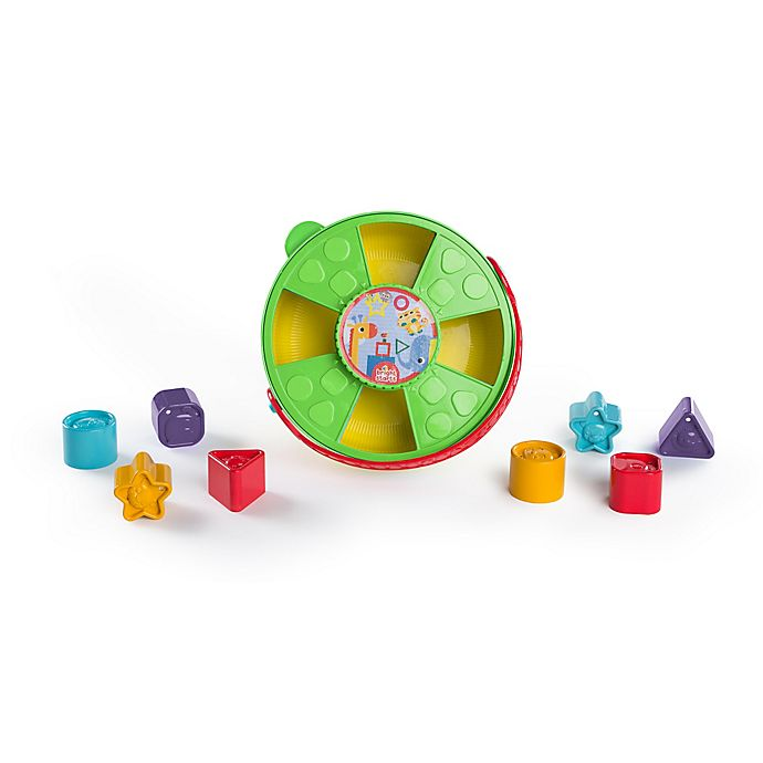 Alternate image 1 for Bright Starts™ 4-in-1 Twist & Grow Shape Sorter