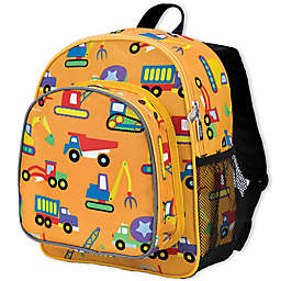 Olive Kids Under Construction Pack 'N Snack Backpack in Yellow