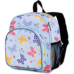 Olive Kids Butterfly Garden Pack 'N Snack Backpack in Blue