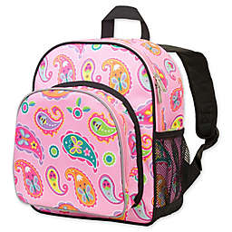 Olive Kids Paisley Pack 'N Snack Backpack in Pink