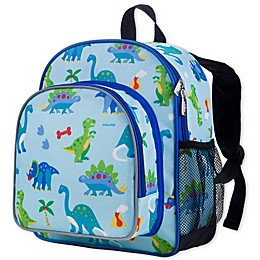 Olive Kids Dinosaur Land Pack 'N Snack Backpack in Blue