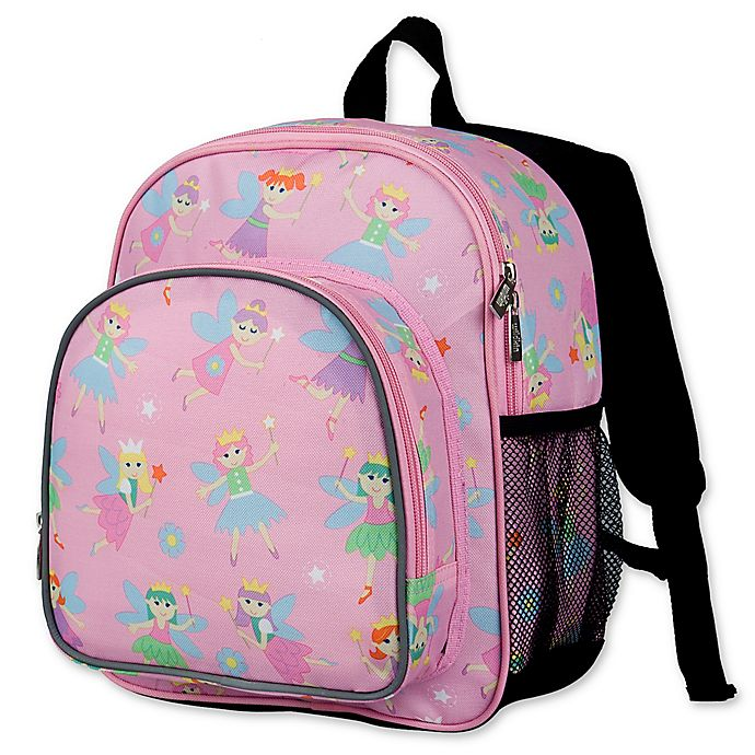 Alternate image 1 for Olive Kids Fairy Princess Pack 'N Snack Backpack in Pink