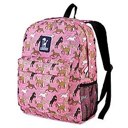 Wildkin Horses Crackerjack Backpack in Pink