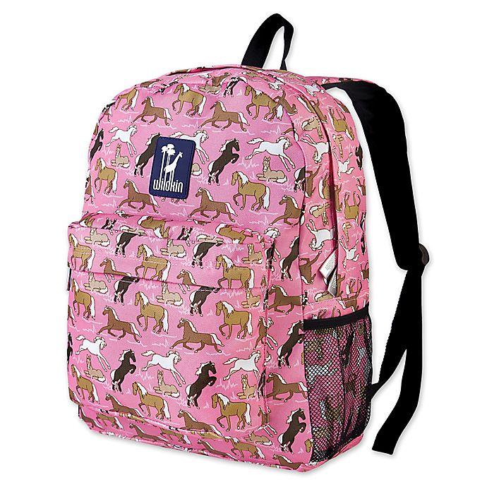 Alternate image 1 for Wildkin Horses Crackerjack Backpack in Pink