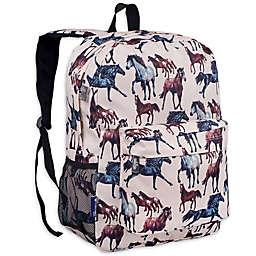 Wildkin Horse Dreams Crackerjack Backpack in Tan