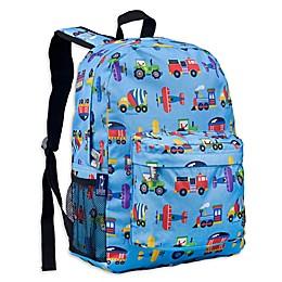 Wildkin Trains, Planes Crackerjack Backpack in Blue