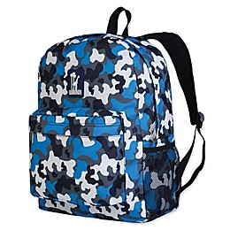 Wildkin Camo Crackerjack Backpack in Blue