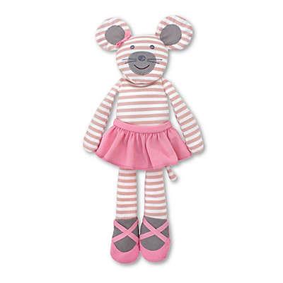 Organic Farm Buddies™ Ballerina Mouse Stuffed Animal