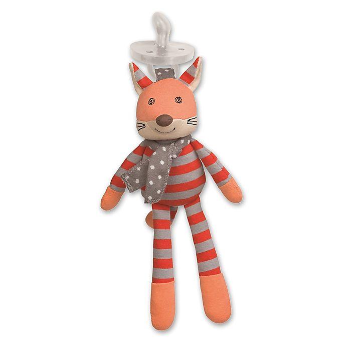 Alternate image 1 for Organic Farm Buddies™ Frenchy Fox Pacifier