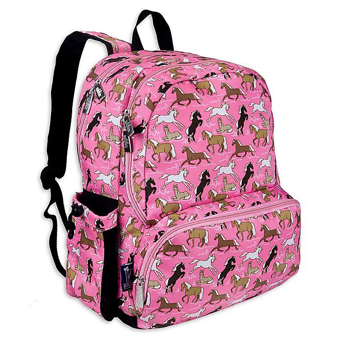 Alternate image 1 for Wildkin Horses Megapak Backpack in Pink