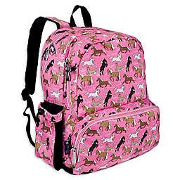 Wildkin Horses Megapak Backpack in Pink