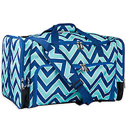 Wildkin Zigzag Weekender Duffel Bag in Green