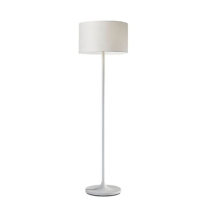Alternate image 1 for Adesso® Oslo Floor Lamp in White