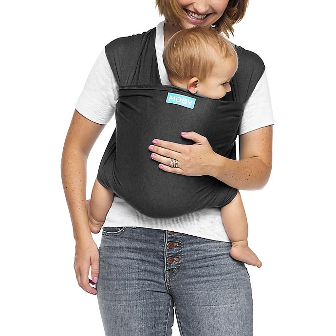 5f5dc70fa89 Moby® Wrap Evolution Baby Carrier in Charcoal
