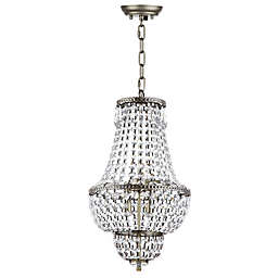 Safavieh Amoret 4-Light Chandelier in Brass