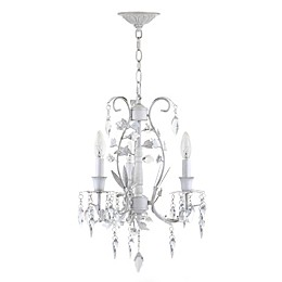 Safavieh Jasper 3-Light Chandelier in White