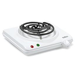 Salton White Single Coil Portable Cooking Range by Toastess