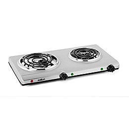 Salton Stainless Steel Double Coil Portable Cooking Range by Toastess
