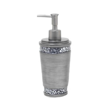India Ink Omni Lotion Dispenser In Pewter Bed Bath Amp Beyond