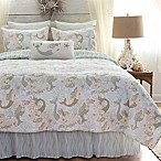 Mystic Echoes Twin Quilt in White