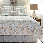 Mystic Echoes King Quilt in White