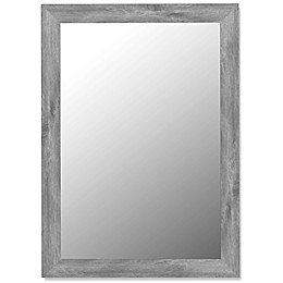 Hitchcock-Butterfield Decorative Wall Mirror in Weathered Grey