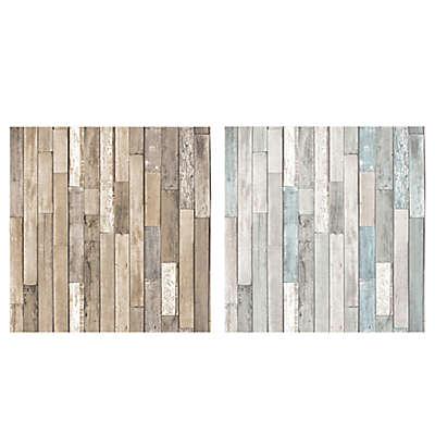 Brewster Home Fashions Barn Board Thin Plank Wallpaper