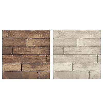 Nailhead Plank Wallpaper