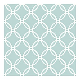 Nuwallpaper™ Links Peel & Stick Wallpaper in Blue