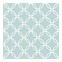 Nuwallpaper™ Links Peel And Stick Wallpaper in Blue