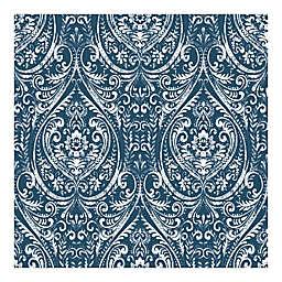 Nuwallpaper™ Bohemian Damask  Peel And Stick Wallpaper in Indigo